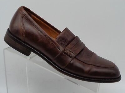 4969671dc575 Bostonian Italy Brown Grain Leather Penny Loafer Oxford Dress Shoes Men s  ...