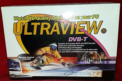 Ultraview DVB-T PCI TV Tuner Card