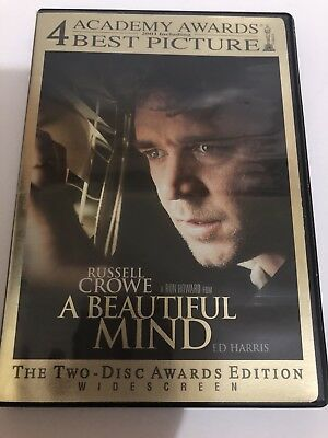 A Beautiful Mind The Two Disc (Dvd) Awards Edition.