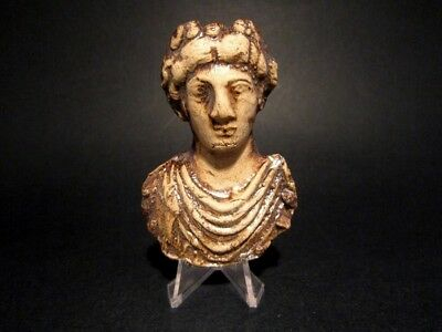 Beautiful Roman Style Terracotta Bust Of Dionysius Applique, Replica!!!