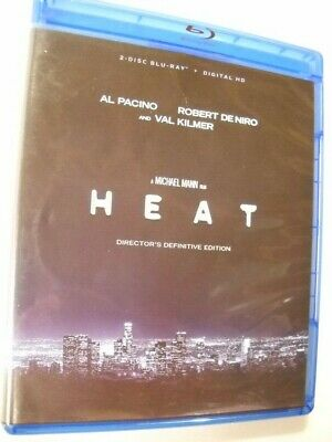 Heat (Blu-ray Disc, 2-Disc Set, Director's Definitive Edition) NO DIGITAL CODE