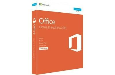 Microsoft Office Home and Business 2016 Retail 1PC Word Excel PowerPoint Outlook