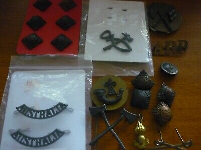 Collection Ww1 Ww2 Pips Badges