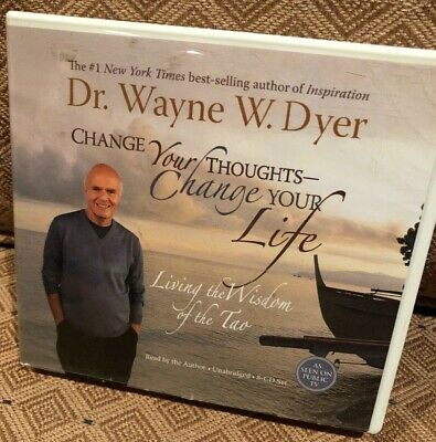 Dr Wayne Dyer CHANGE YOUR THOUGHTS CHANGE YOUR LIFE 8 CD Living Wisdom  Tao