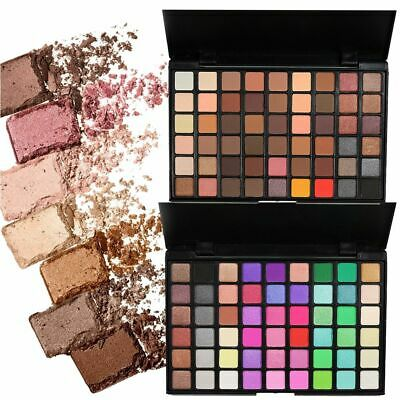 Popfeel 54 Colors Glitter Shadow Matte Shimmer Eyeshadow Palette Pro Makeup