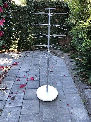 Used shop fittings, Spinning  mobile rack For Accessories Display, Multiple Uses