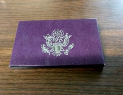 1991 US Mint Proof Set with COA in original OGP (pfs)