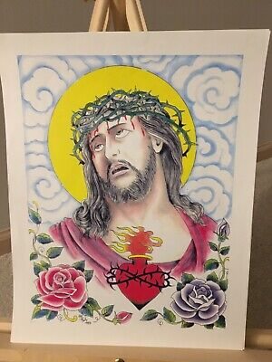 mike rollo banks malone CHRIST HEAD FLASH NICE COPY