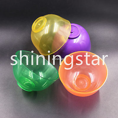 Dental Lab Rubber Mixing Bowl Impression Material Tool 8.5 cm 4 Color To Choose