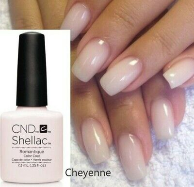 CND Shellac UV / LED Nail Polish ROMANTIQUE Colour