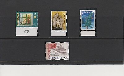 Slovenia Group of Christmas Issues MNH Scott 649//770