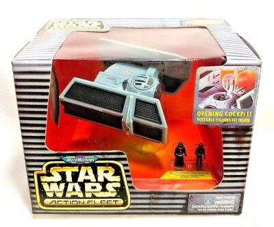 Galoob 1996 Micro Machines Star Wars Action Fleet Darth Vaders Tie Fighter NRFB