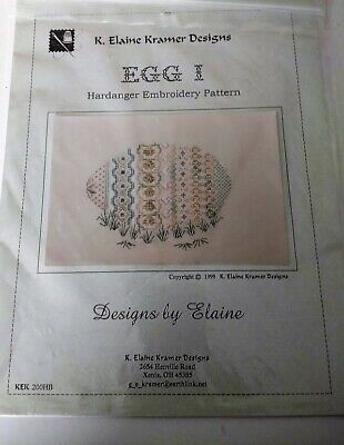 Needlepoint pattern Egg I by K Elaine Kramer Designs