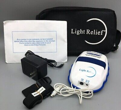 Light Relief LR150 Infrared Muscle Pain Reliever Therapy Device *Fast Ship* F28