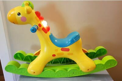 Fisher price musical Rockin' Tunes Giraffe rocking horse giraffe
