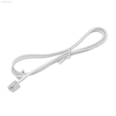 600A 1M RJ11 To RJ11 Telephone Modem Phone Cable Line Plug 6P2C For ADSL Router