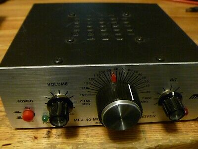MFJ-9040 40 METER 5 Watt CW Transceiver With Keyer and CW Filter Tech  Special