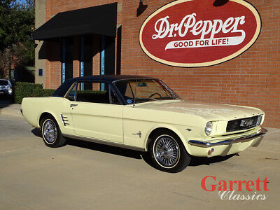 1966 Ford Mustang  1966 Ford Mustang Coupe 298  1 Owner Car
