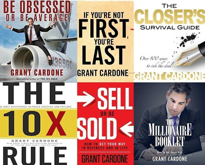 Audio Books By Grant Cardone (7 Audio Books)
