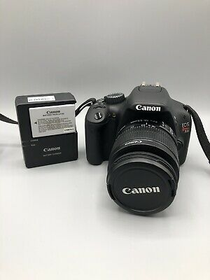 NEW Canon EOS Rebel T2i 550D DSLR Camera with EF-S 18-55mm f/3.5-5.6 IS II Lens