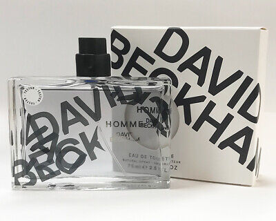 David Beckham Homme 75 ml edt - Unused Tester