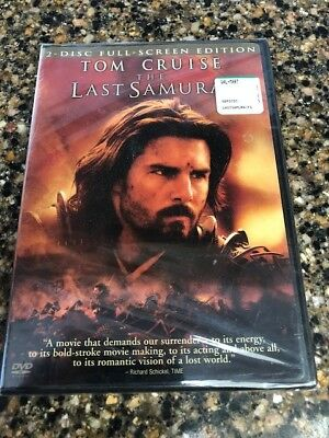 The Last Samurai (Full Screen Edition) DVD 2-Disc Tom Cruise