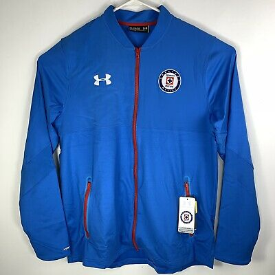 bf87d631e50 Under Armour UA Cruz Azul Soccer Stadium Jacket 1275130-473 Mens XXL 2XL   120