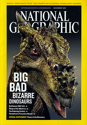 NATIONAL GEOGRAPHIC MAGAZINE Volume 212 #6 December 2007 *Ships Free w/$35 Combo
