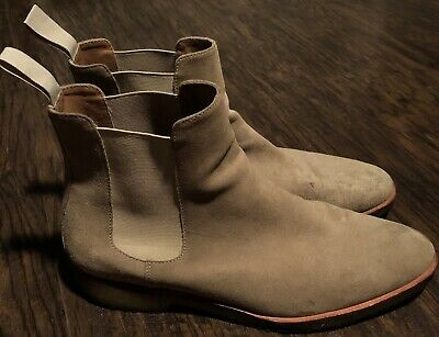 14aa4ee5e62 MARK MCNAIRY NEW Republic (Men s Size 11) Suede Chelsea Boots Shoes ...