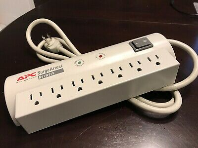 APC Network SurgeArrest 7-Outlet 120V Surge Protector NET7 Power TAP