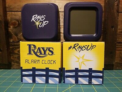 "Tampa Bay Rays Alarm Clock SGA Stadium Giveaway ""RAYS UP"" NIB"