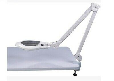 Magnifying Lamp with Strong Clamp Clean Light To Attach To Most Trolleys or Desk