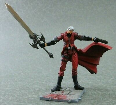 "DEVIL MAY CRY K.T Action Dante Figure  Authentic 3"" Kaiyodo Japan G1135"