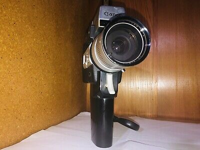 Cannon Auto Zoom 518 Super 8 Handheld Movie Camera Come With Manual.