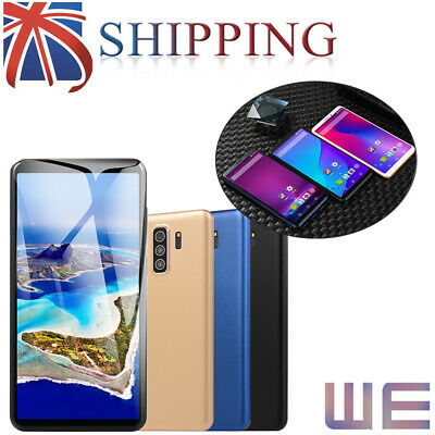 "New 5.8"" Smartphone Android8.1 Mobile Phone Quad Core Dual SIM Unlocked UK"