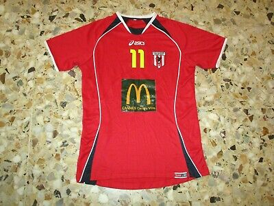Maillot porté ancien shirt jersey trikot maglia worn AS CANNES VOLLEY BALL N° 11