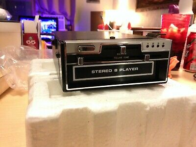 Realistic Automotive Stereo 8-Track Player Cat. No. 12-1802A (with box)