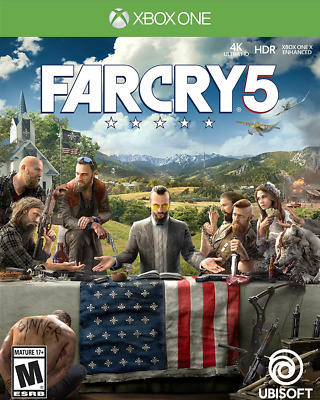 Far Cry 5 (Xbox One, 2018): Brand New and Sealed