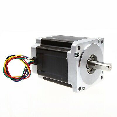 Free Ship 1PC Nema 34 Stepper Motor 1232oz.in 5.6A CNC LONGS
