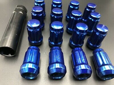 SET OF 4 7547489 Polaris RZR 900 1000 Front and Rear M12 x 1.5 Wheel Lug Nuts