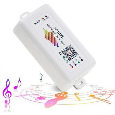 LED Controller, WS2812B WS2811 Music Sync Bluetooth Controller, iOS Android A9P6