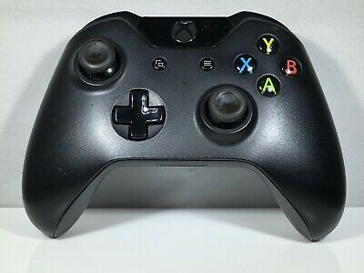 Microsoft Xbox One Wireless Controller - Black (Model 1537) For Parts Or Repair!