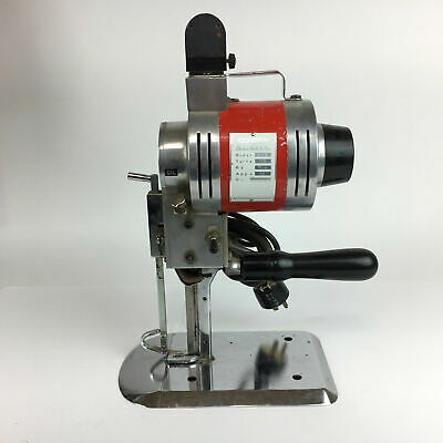 """Consew 510 Industrial Commercial Fabric Cutting Machine w 4"""" Blade"""