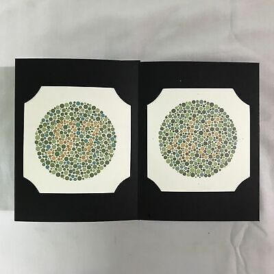 Ishihara Color Blindness Test Book available in 24 plates for color deficiency