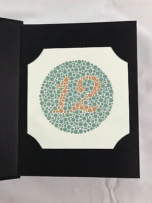 Ishihara Test Book Plates Color Blindness Eye Testing with OCCLUDER Great Value