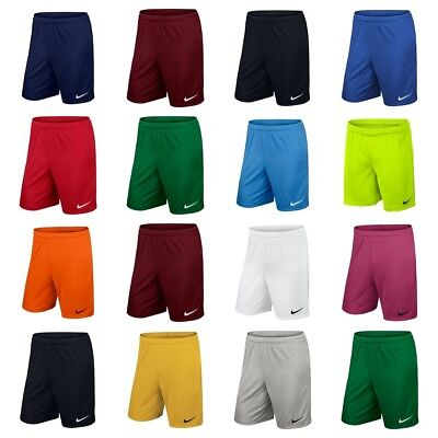 Nike Park Boys Football Shorts Kids Training Dri Fit Running Sports Junior XS-XL