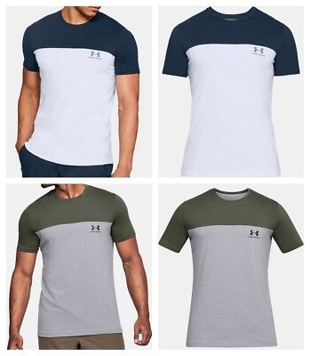 Under Armour Mens T Shirt Short Sleeve Sportstyle Casual Tee Gym Top S M L XL