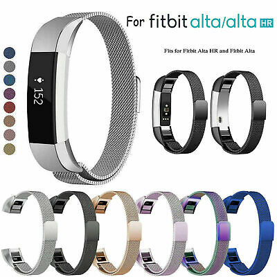 Stainless Steel Replacement Spare Metal Band Strap for Fitbit Alta / Alta HR AU
