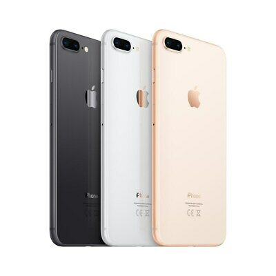 Apple iPhone 8 Plus - 64GB - Space Gray Gold Silver  (Unlocked ) A