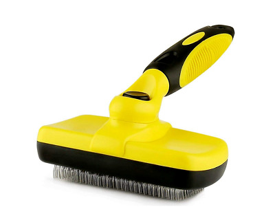 Pet Grooming Brush Self Cleaning Hair Shedding Tool Grooming Cats and Dogs